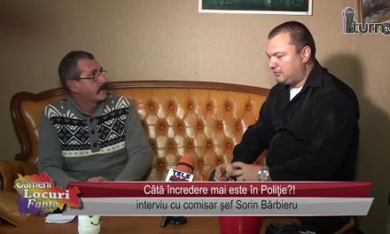 Câtă încredere mai este în poliţie – interviu cu Sorin Barbieru
