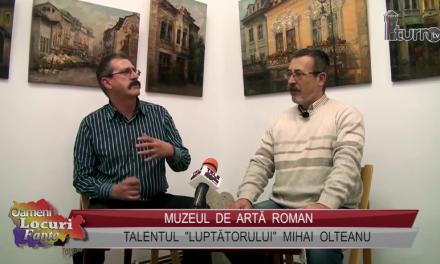 """Talentul """"Luptatorului"""" Mihai Olteanu"""