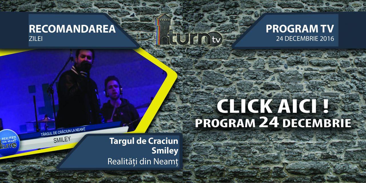 Program TV 24 decembrie 2016 si Recomandarea zilei