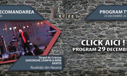 Program TV 29 decembrie 2016 si Recomandarea zilei