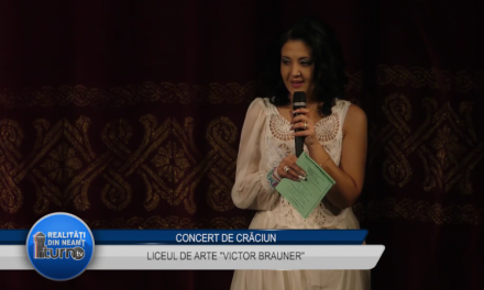 """Concert de Crăciun – Liceul de Arte """"Victor Brauner"""""""