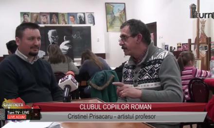 Cristinel Prisacaru – artistul profesor