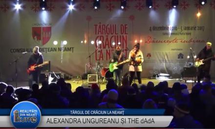 Tărgul de Crăciun – Alexandra Ungureanu și THE dAdA