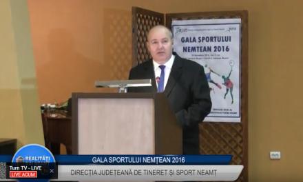 Gala sportului nemțean – partea 1