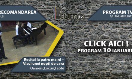 Program TV 10 ianuarie 2017 si Recomandarea zilei