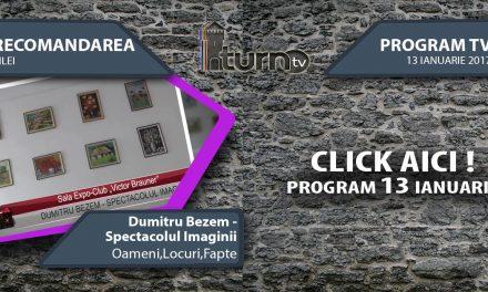 Program TV 13 ianuarie 2017 si Recomandarea zilei