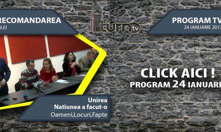 Program TV 24 ianuarie 2017 si Recomandarea zilei