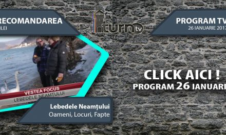 Program TV 26 ianuarie 2017 si Recomandarea zilei