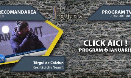 Program TV 6 ianuarie 2017 si Recomandarea zilei