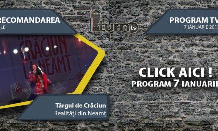 Program TV 7 ianuarie 2017 si Recomandarea zilei