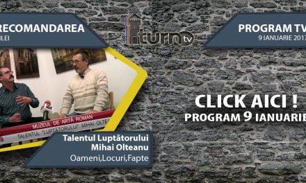 Program TV 8 ianuarie 2017 si Recomandarea zilei