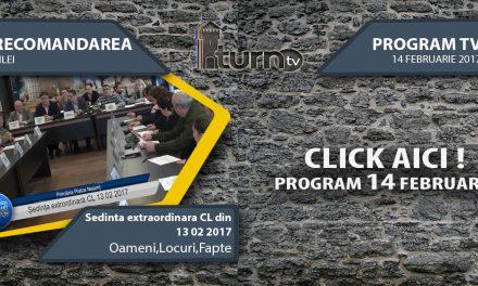 Program TV 14 februarie 2017 si Recomandarea zilei