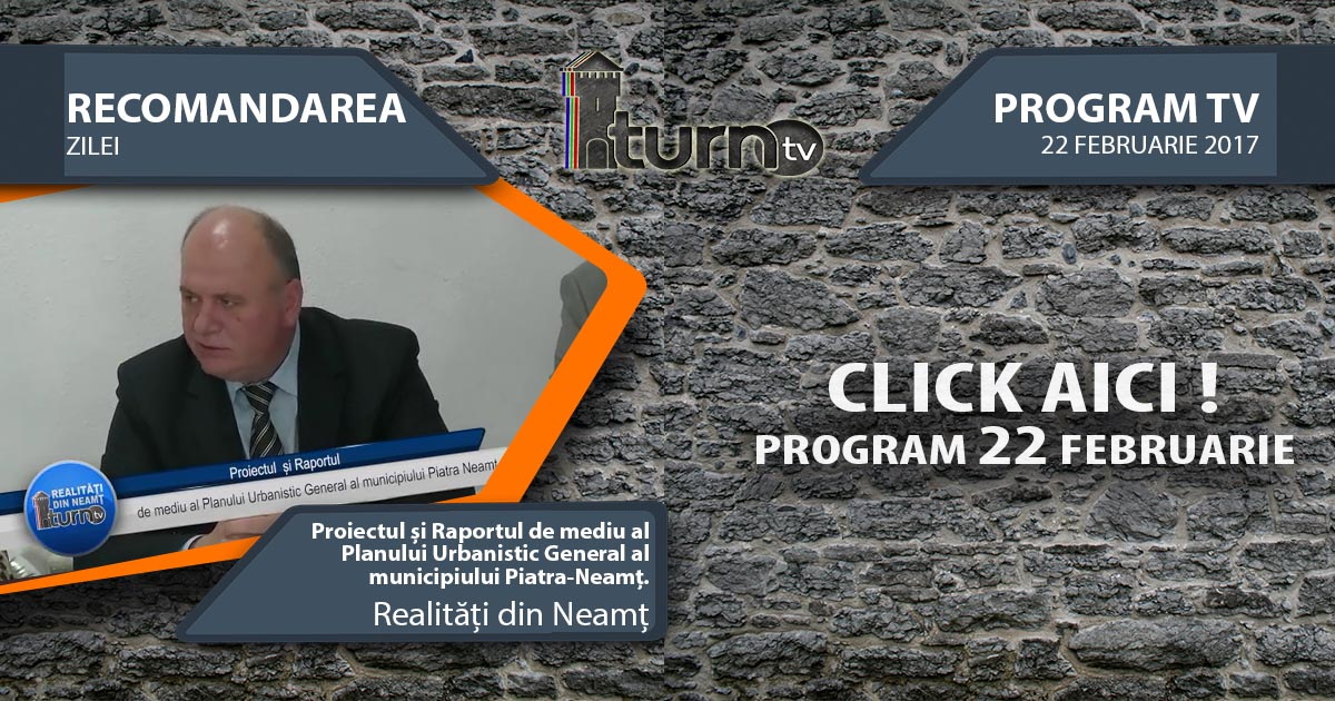 Program TV 22 februarie 2017 si Recomandarea zilei