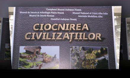 Ciocnirea civilizațiilor. Războaiele daco-romane ilustrate în machete.