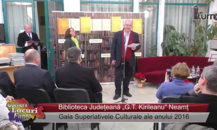Gala Superlativele Culturale ale anului 2016 partea 2