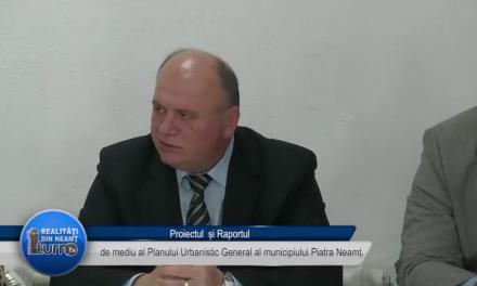 Proiectul și Raportul de mediu al Planului Urbanistic General al municipiului Piatra-Neamț.