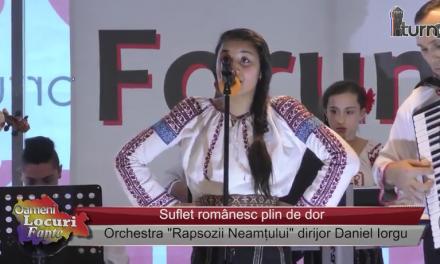 Suflet românesc plin de dor
