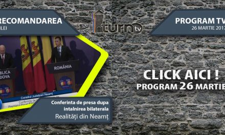 Program TV 26 martie 2017 si Recomandarea zilei