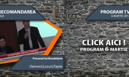 Program TV 6 martie 2017 si Recomandarea zilei