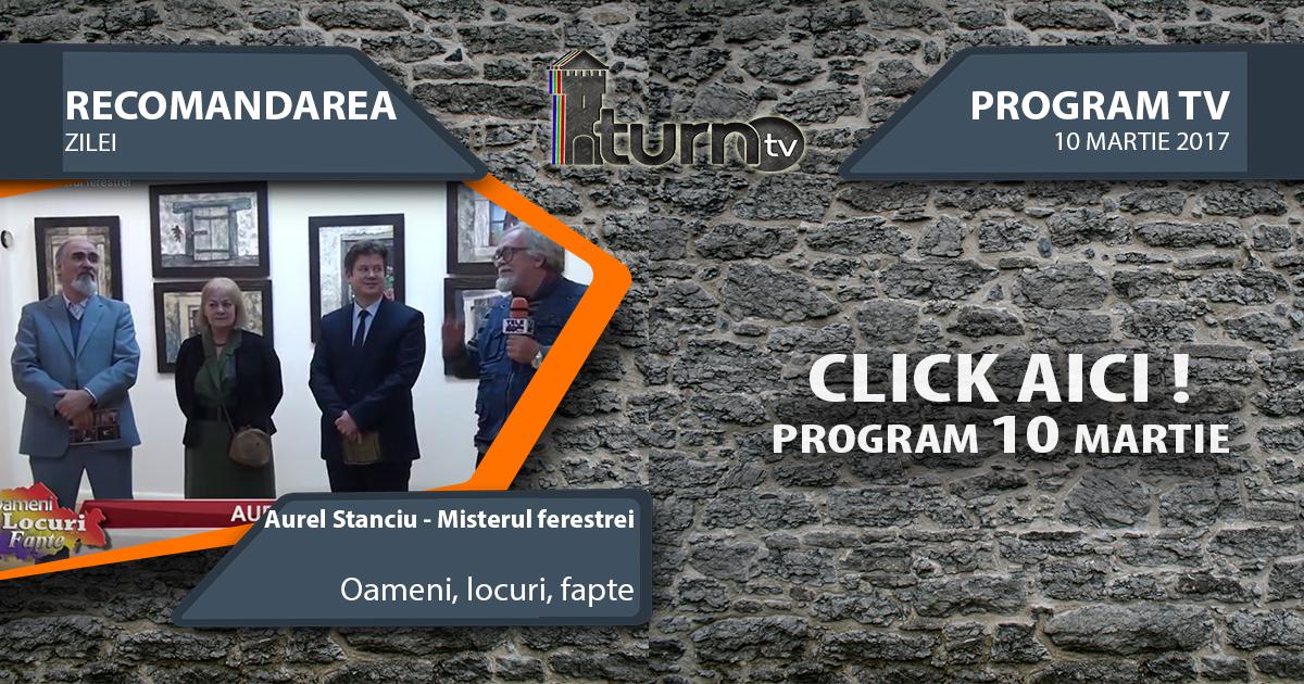 Program TV 10 martie 2017 si Recomandarea zilei