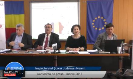 ISJ Neamt Conferinta de presa martie 2017