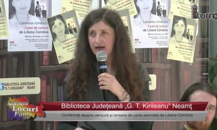 Lansare de carte semnată de Liliana Corobca