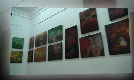 Expozitie de pictura Mihai Olteanu