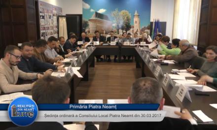 Sedinta CL Piatra Neamt din 30 03 2017