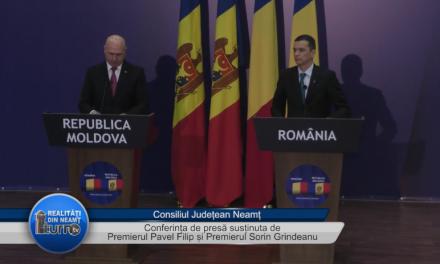 Conferința de presă după întalnirea bilaterală Republica Moldova – România