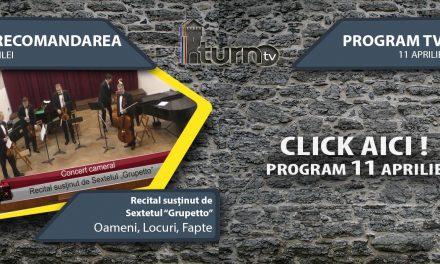 Program TV 11 aprilie 2017 si Recomandarea zilei
