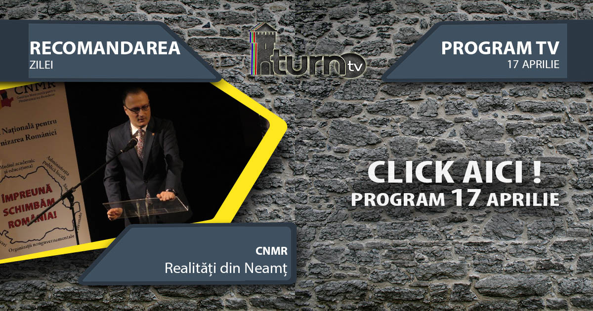 Program TV 17 aprilie 2017 si Recomandarea zilei