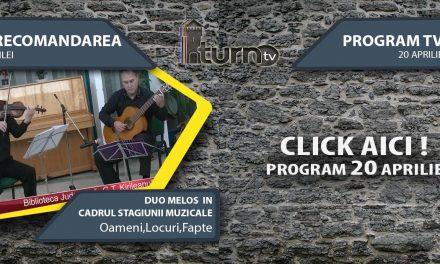 Program TV 20 aprilie 2017 si Recomandarea zilei
