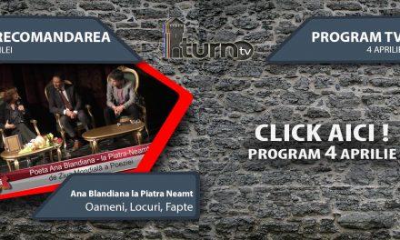 Program TV 4 aprilie 2017 si Recomandarea zilei