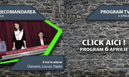 Program TV 6 aprilie 2017 si Recomandarea zilei