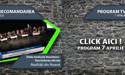 Program TV 7 aprilie 2017 si Recomandarea zilei