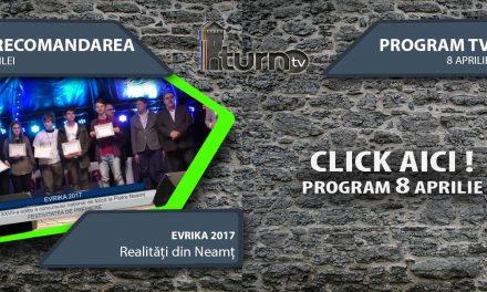 Program TV 8 aprilie 2017 si Recomandarea zilei