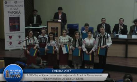 Evrika 2017 – Festivitatea de deschidere