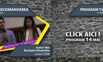 Program TV 14 mai 2017 si Recomandarea zilei
