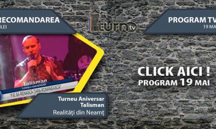 Program TV 19 mai 2017 si Recomandarea zilei
