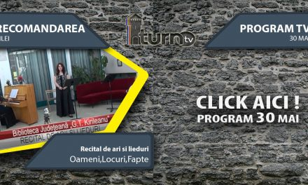 Program TV 30 mai 2017 si Recomandarea zilei