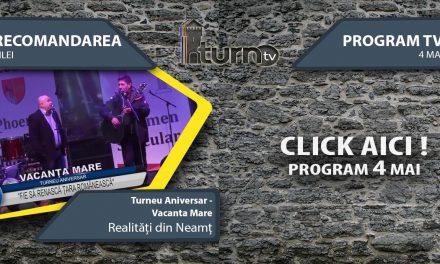 Program TV 4 mai 2017 si Recomandarea zilei