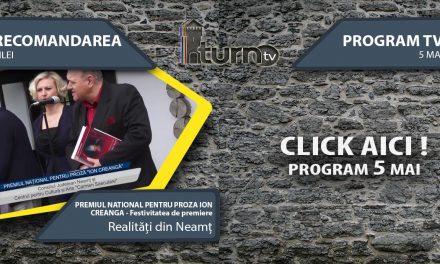 Program TV 5 mai 2017 si Recomandarea zilei