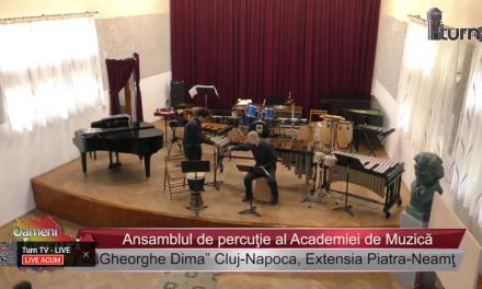 Ansamblul de percuţie al Academiei de Muzica Gheorghe Dima Cluj Napoca, Extensia Piatra Neamt