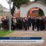 Eroii comemorati la Cimitirul Eroilor din Piatra Neamt