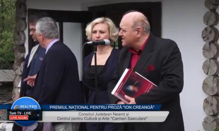 PREMIUL NATIONAL PENTRU PROZA ION CREANGA Festivitatea de premiere
