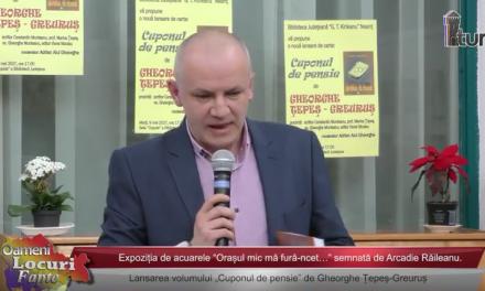 """Miniaturi si proza la biblioteca """"GT Kirileanu"""""""