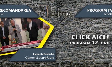 Program TV 12 iunie 2017 si Recomandarea zilei