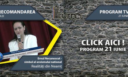 Program TV 21 iunie 2017 si Recomandarea zilei