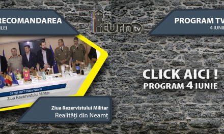 Program TV 4 iunie 2017 si Recomandarea zilei