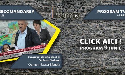 Program TV 9 iunie 2017 si Recomandarea zilei